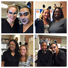Staff Halloween Picture 2